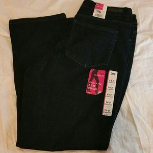 NWT Lee Jeans classic fit women's 14p